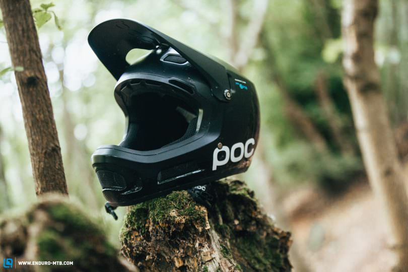 The Lab Poc Coron Air Spin Full Face Helmet In Review Enduro
