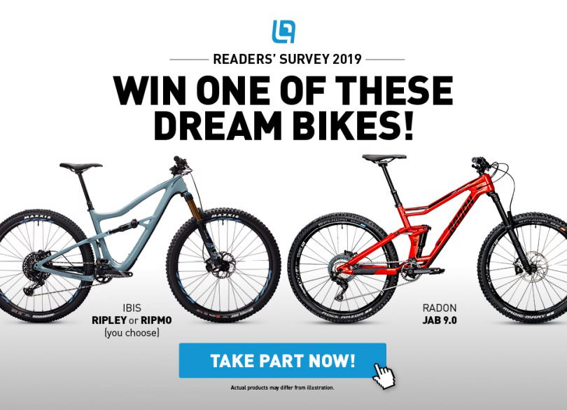 hot sale online 72607 a2ef9 ENDURO Readers  Survey 2019 – Win Bikes from Ibis and Radon