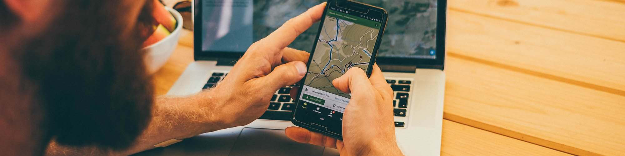 Navigate with komoot – the app that helps you to discover