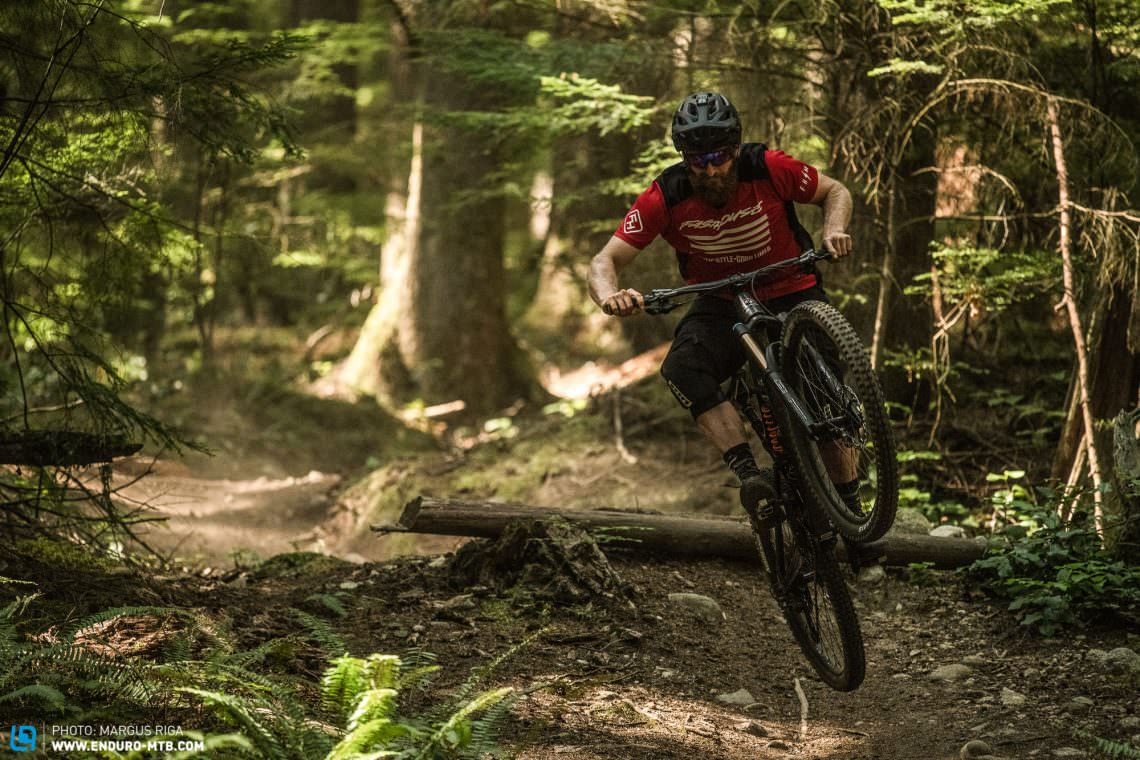Let it rip. The new Slayer is a beast on the trails