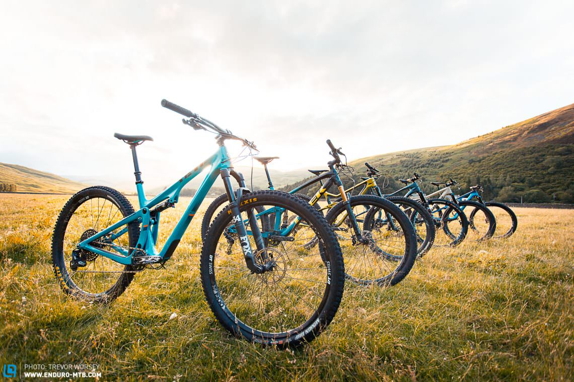 The Best Short-Travel Trail Bike – 6 Mountain Bikes in Test