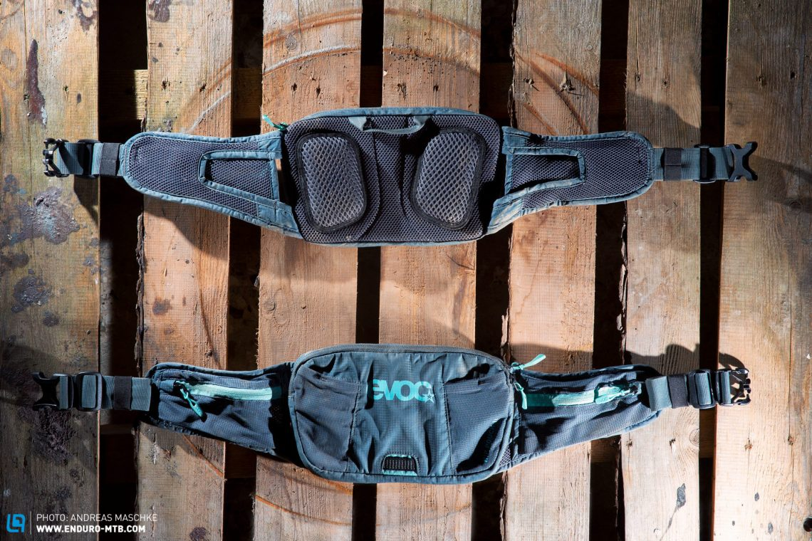 EVOC Hip Pouch 1L Mountain Bike Waist Bag Storage MTB No Bladder