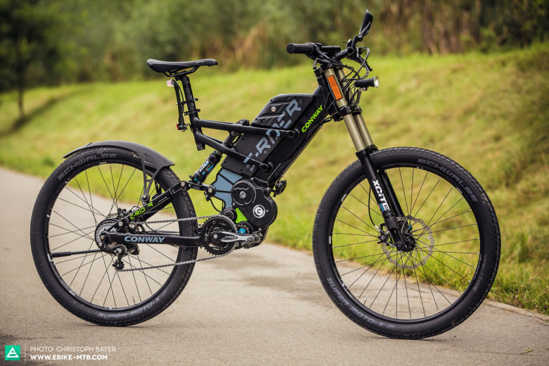Super Lifted up: The Conway E-Bikes Street and Extreme   E-MOUNTAINBIKE EQ-43