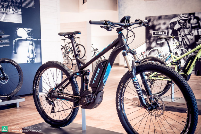 First Look: Trek Powerfly+ FS Full Suspension E-Mountainbike | E