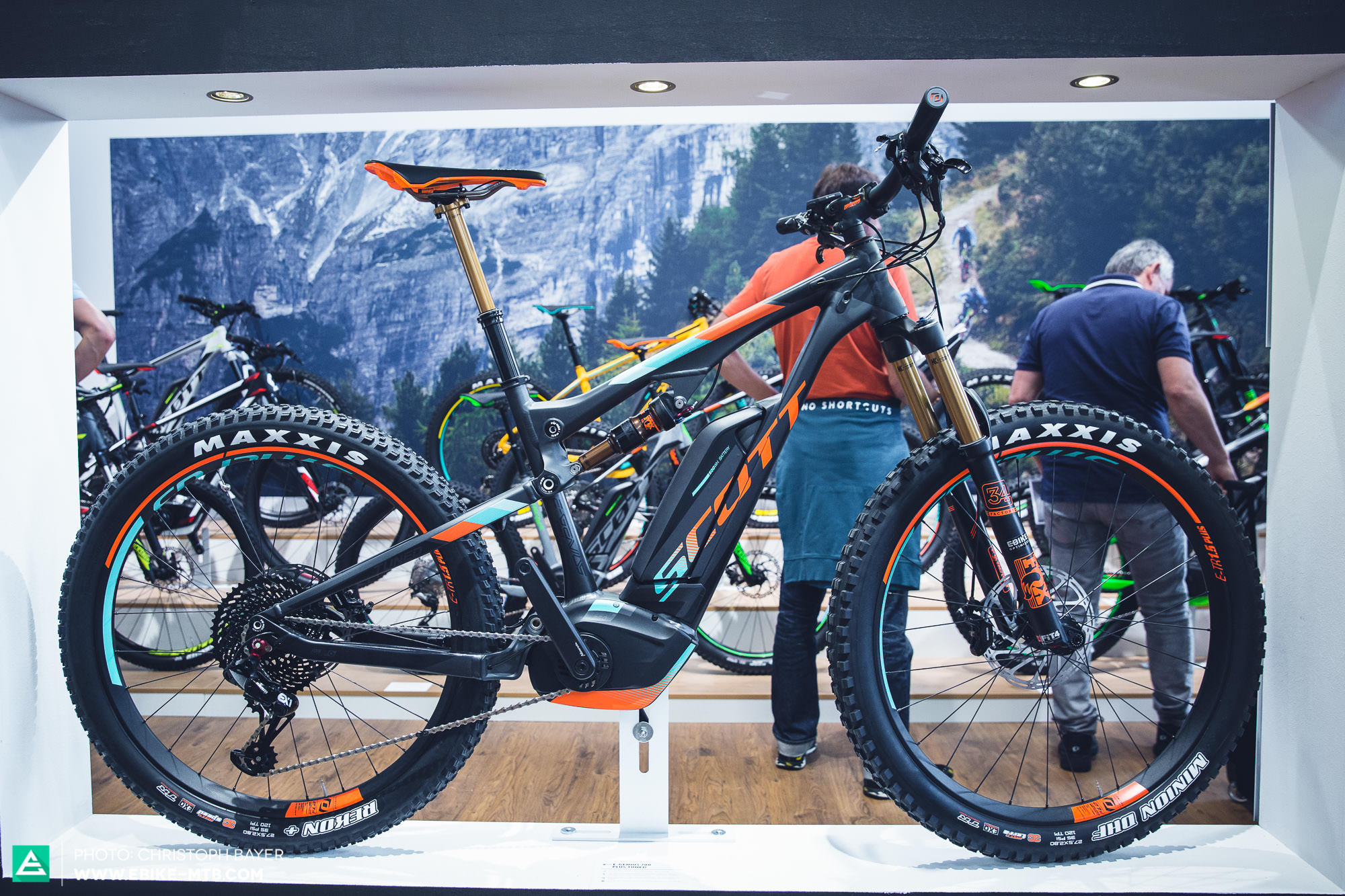 New Bikes Motors Scott With Mive Updates E Mountainbike Magazine