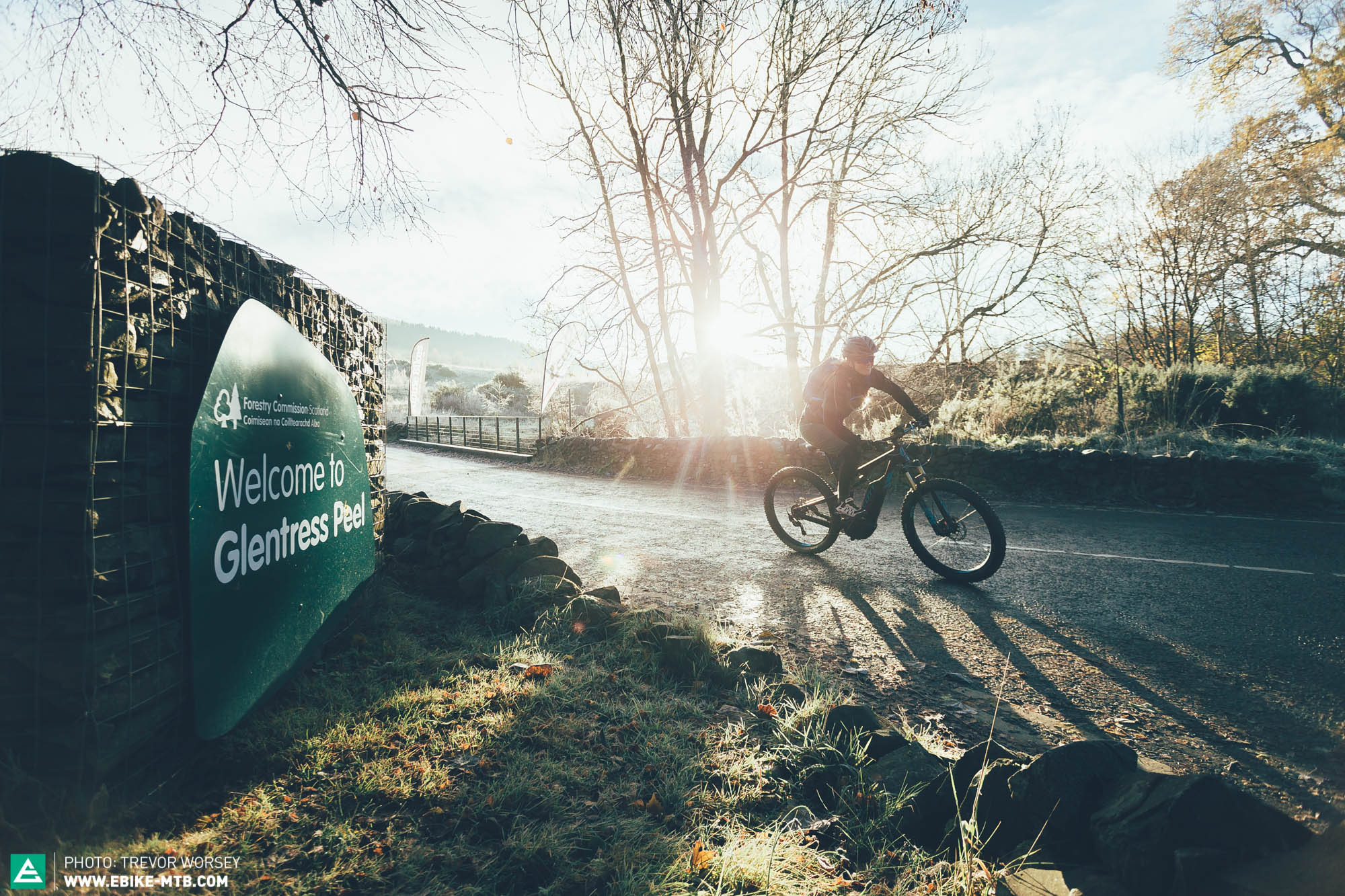 Can an E-MTB Ride Every Trail at Glentress in a Single
