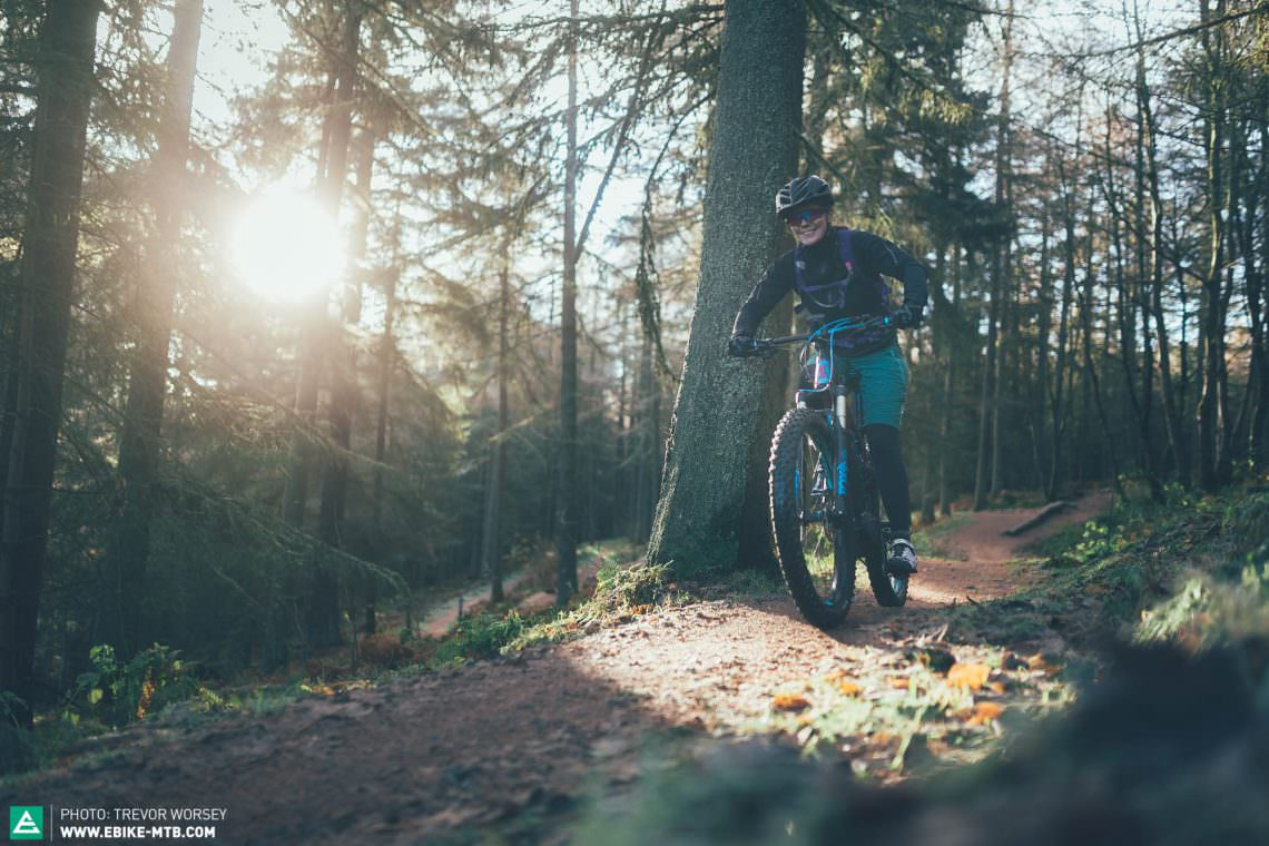 Glentress features smooth trails, with purpose built singletrack climbs - perfect for E-MTB's.