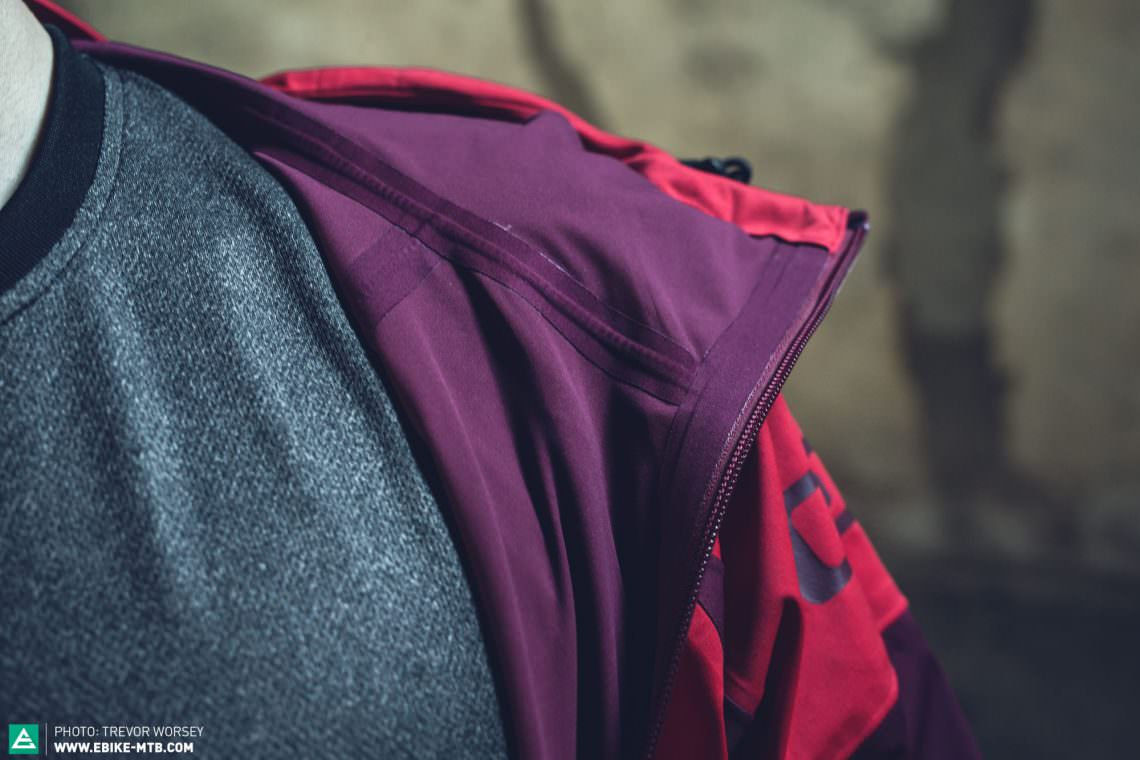 The best jackets will have fully taped seams, stopping water ingress through the stitching holes.