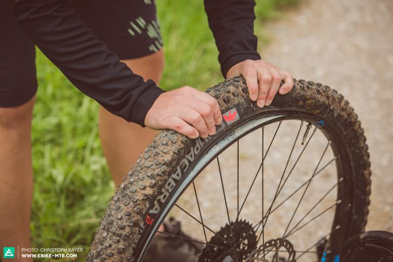 Image result for changing flat tire mtb