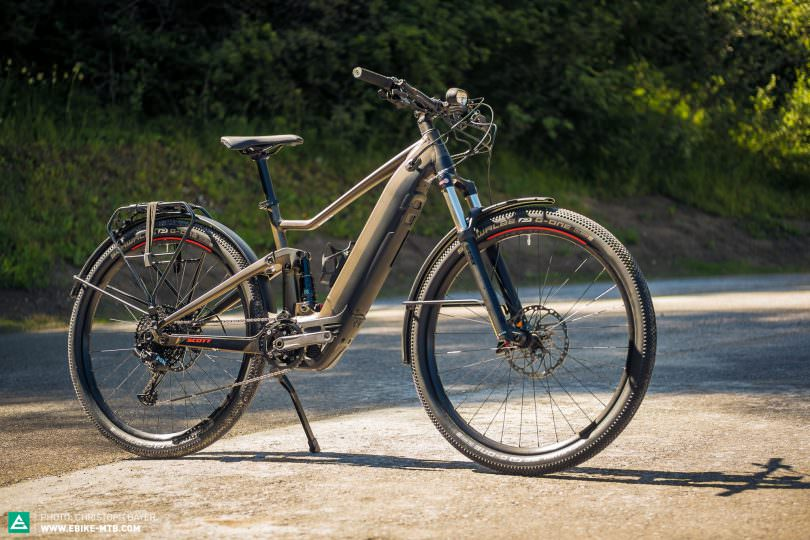 35f0836ef The new SCOTT AXIS eRIDE EVO is a full-suspension bike for everyday use. It  will be available for € 4
