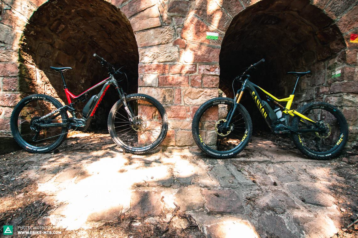 Canyon Spectral:ON vs  COMMENCAL META POWER 29 | E