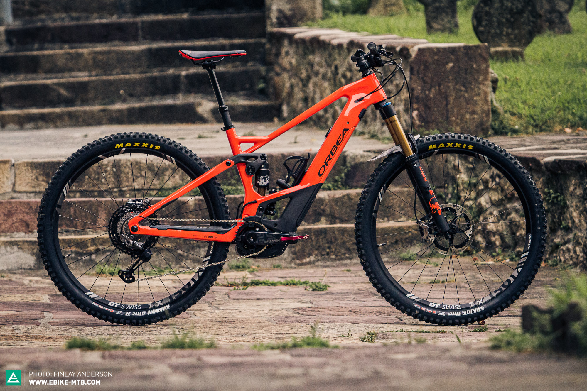 First Ride Review Orbea Wild Fs 2020 It S In The Name E Mountainbike Magazine