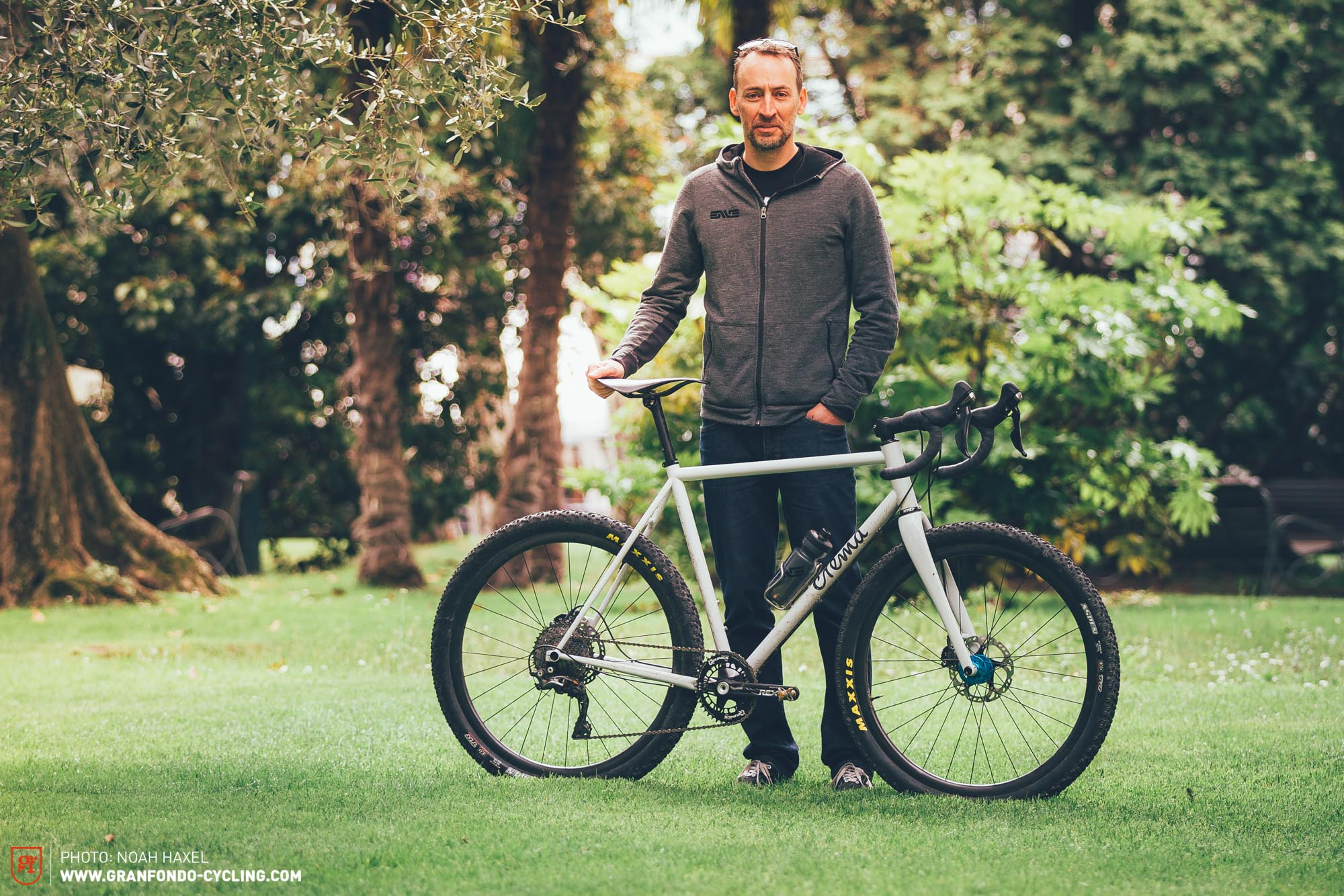 Industry Bike Check: Ken Bloomers Crema Duo Gravelbike | GRAN FONDO ...