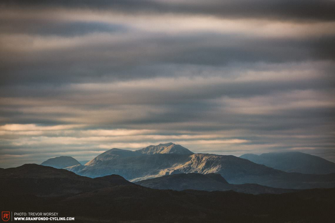 First light slowly revealed the beauty of Applecross.