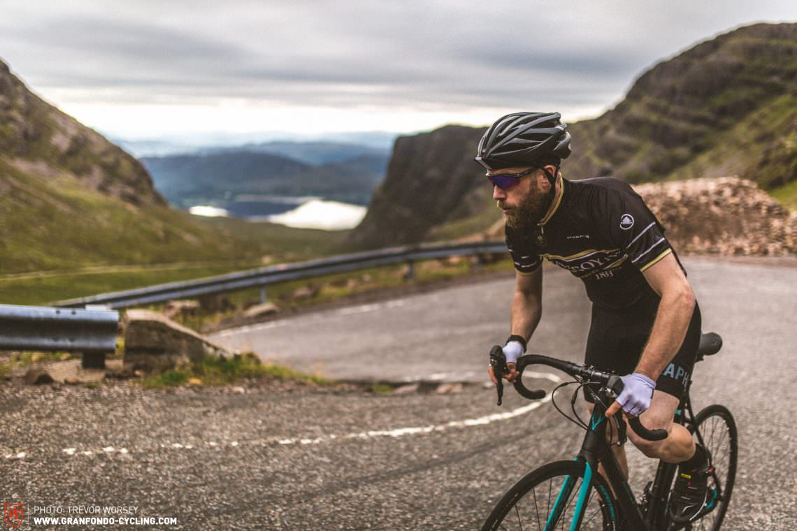 The four switchbacks of Bealach-Na-Ba rival those of the alps