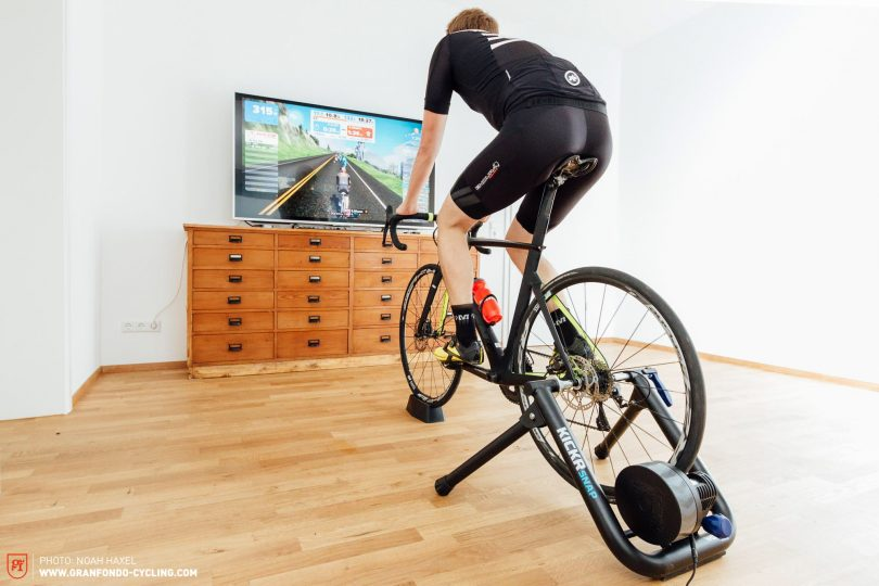 Indoor-Training With the Wahoo KICKR SNAP Smart Trainer