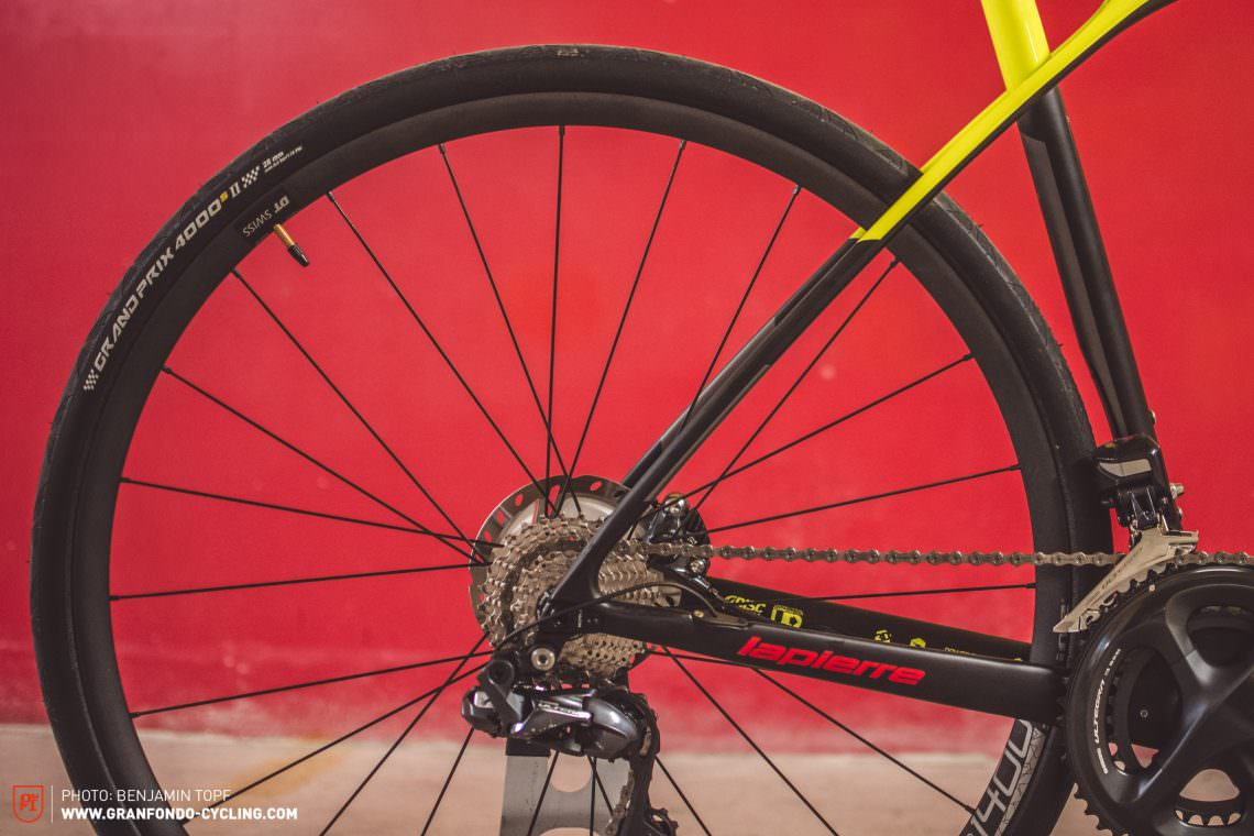 5edae31c9bf Hidden from the eye of the beholder – but no less relevant – is the updated  head tube: for 2019 Lapierre has given the Xelius SL 700 Disc a tapered  steerer ...